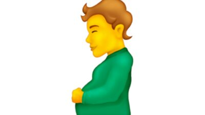 A pregnant man and pregnant person emoji has been approved for use for smartphones