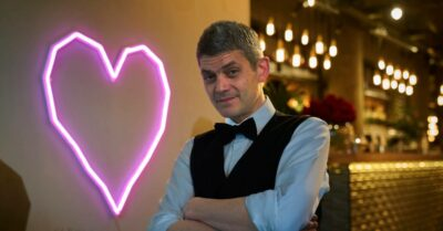 First Dates mixologist Merlin Griffiths is a show staple
