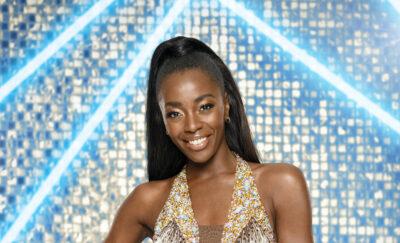 AJ Odudu Strictly Come Dancing
