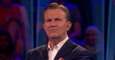 Bradley Walsh frowns at the camera