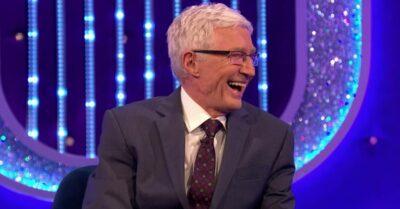 Paul O'Grady laughs
