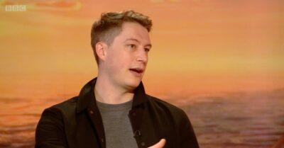 BBC Breakfast host Dan Walker interviewing Vigil star