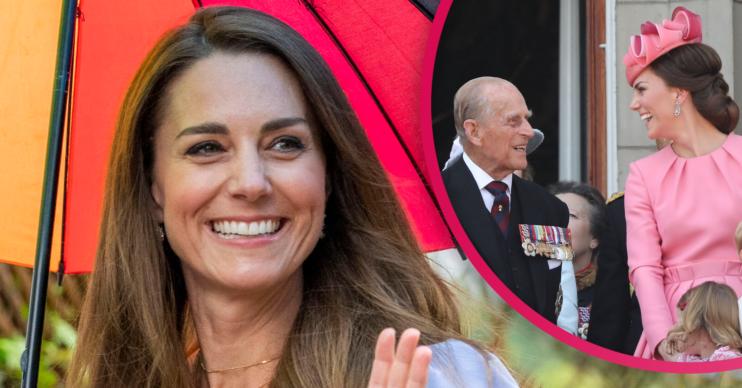 duchess of Cambridge and Philip