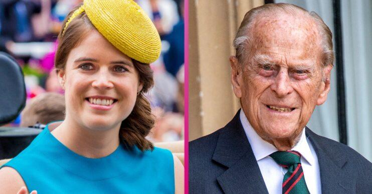 Princess Eugenie and Prince Phillip
