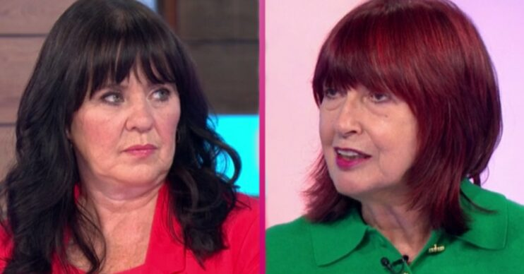 On Loose Women today Coleen Nolan sparked a Covid debate