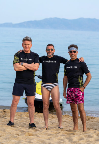 Gordon, Gino and Fred Go Greek returns to our screens next week