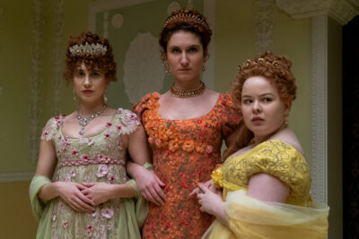 Bridgerton Featherington Sisters