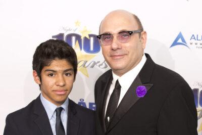 Willie Garson and son