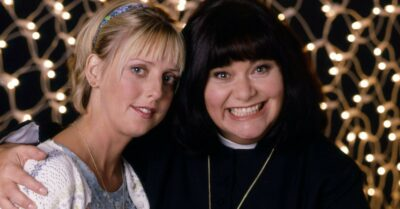 Emma Chambers as Alice Tinker in Vicar of Dibley