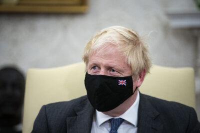 Boris Johnson meeting Biden