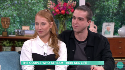 On This Morning today a couple explained how they make money by live-streaming sex