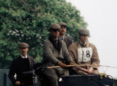 Prince Philip loved carriage racing