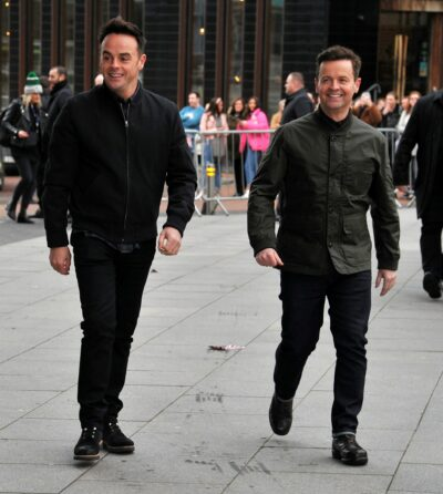 I'm A Celebrity 2021 hosts Ant and Dec spotted out