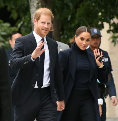 Prince Harry and Meghan Markle in New York