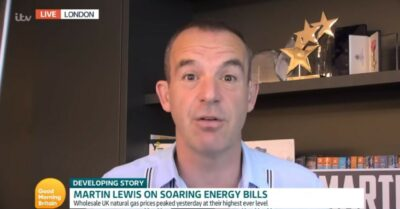 Martin Lewis appears on GMB