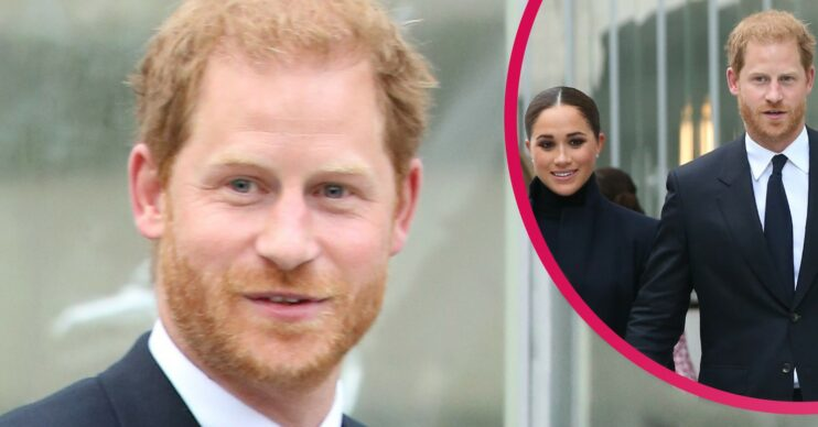 Prince Harry steps out in New York with Meghan Markle in royal news
