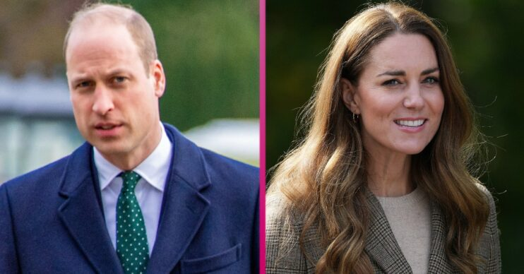 William and Kate during royal engagements
