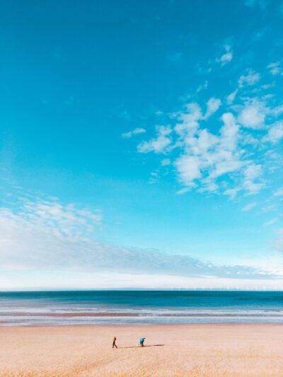 Sunshine beach scene