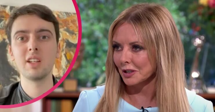 Carol Vorderman son Cameron opens up about his learning disability