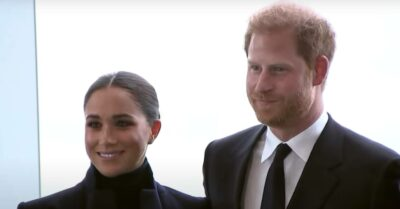 Meghan Markle and Prince Harry in New York