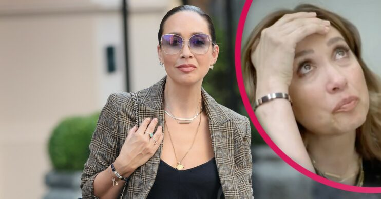 Myleene Klass seen getting emotional as she discusses miscarriage