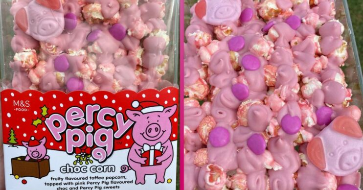 Percy Pigs Choc Corn is a new treat from M&S