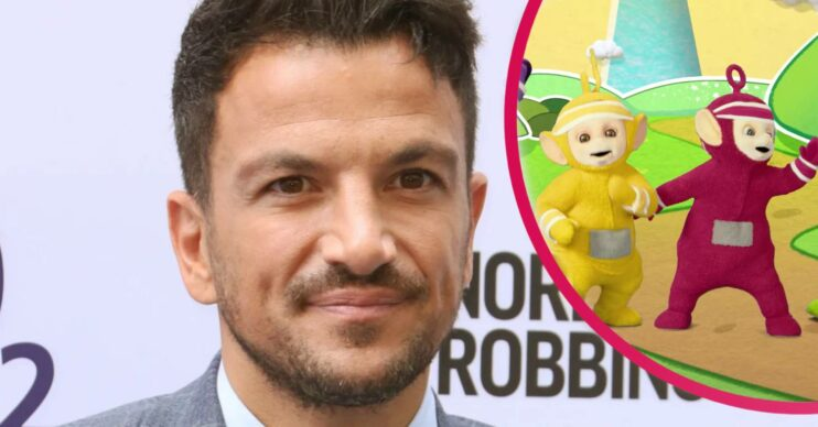 Peter Andre and The Teletubbies