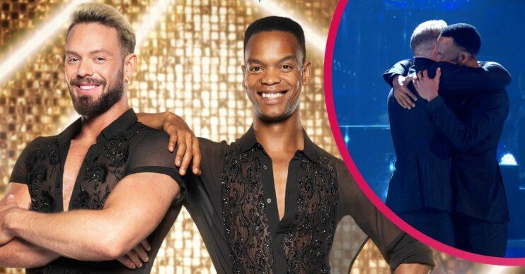 Strictly Come Dancing's Johannes Radebe makes fans sob after same-sex debut