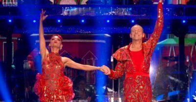 Robert Webb beams on Strictly Come Dancing