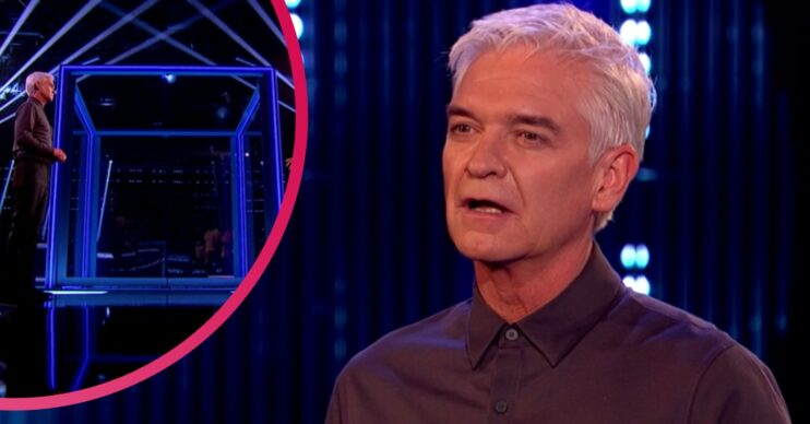 Phillip Schofield is the host of The Cube