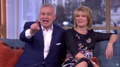 Eamonn Holmes and Ruth Langsford hosting This Morning