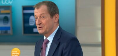 Alastair Campbell returns to host GMB today