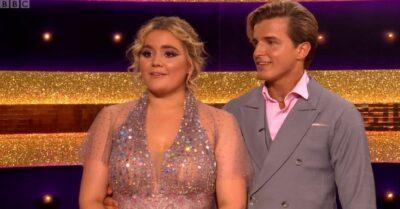 Tilly Ramsay and Nikita Kuzmin on Strictly Come Dancing
