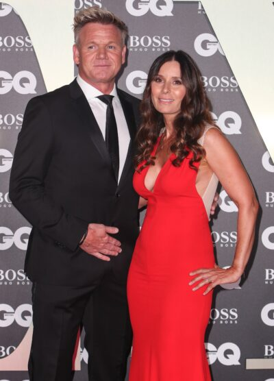 Gordon Ramsay and wife Tana Ramsay on the red carpet