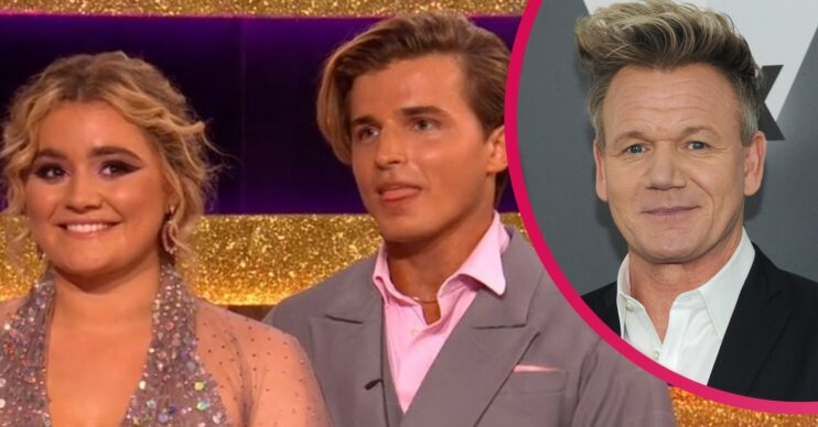 Tilly Ramsay and Nikita on Strictly Come Dancing