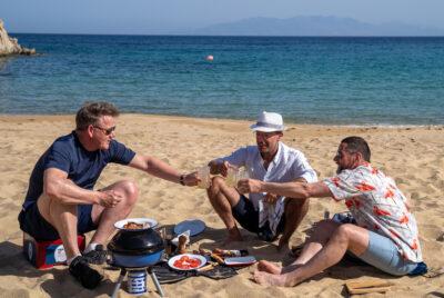 Gordon, Gino & Fred Go Greek on ITV1
