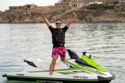 Gino D'Acampo in Greece