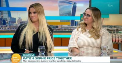 Katie Price and her sister Sophie on GMB