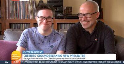 Cbeebies new presenter George Webster