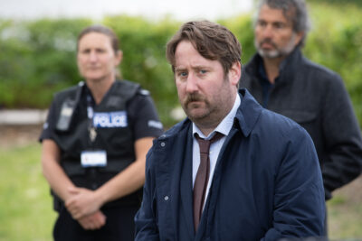 Jim Howick as DS Parks in Hollington Drive