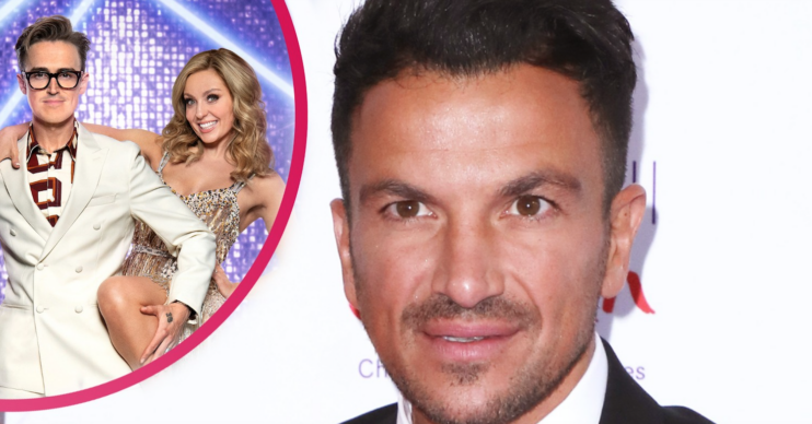 Peter Andre shares his thoughts about the Strictly vaccine news