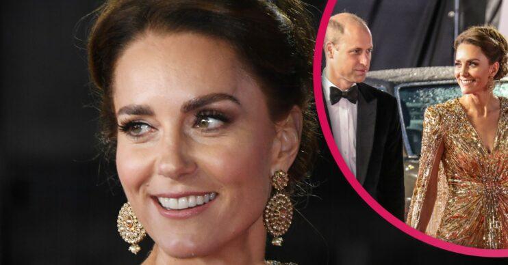 Kate Middleton attends James Bond premiere