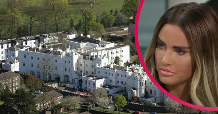 Katie Price will be entering The Priory