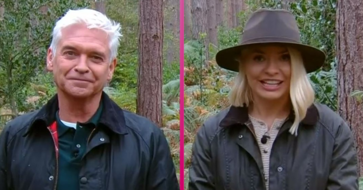 Phil and Holly host This Morning from a forest