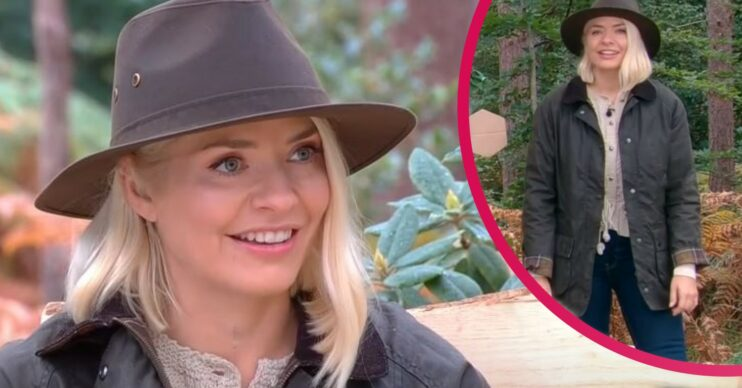 Holly Willoughby wears forest outfit for This morning today