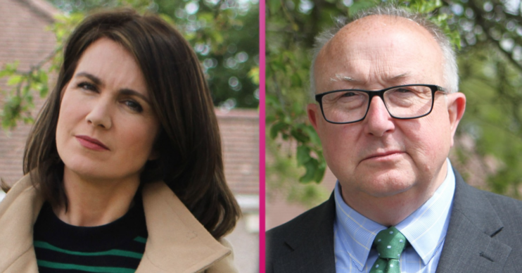 Susanna Reid and Colin Sutton in The Real Manhunt