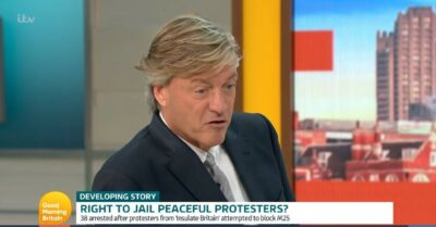 Richard Madeley discusses news on GMB