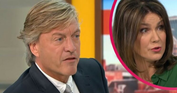 GMB news: Richard Madeley and Susanna Reid under fire for interview