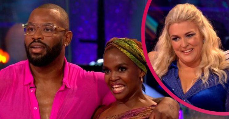 Strictly Come Dancing 2021 stars Ugo Monye and Sara Davies