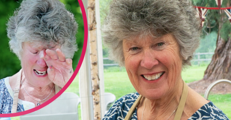 Maggie on The Great British Bake Off
